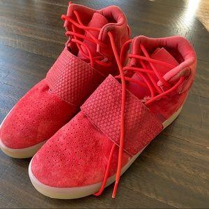 Adidas Red Tubulars Men's Size 6